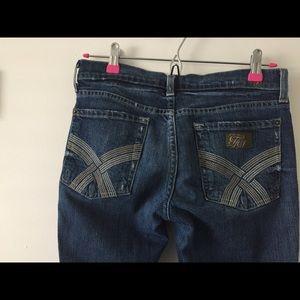 7 FAMK Jeans Skinny Size 27 organic cotton